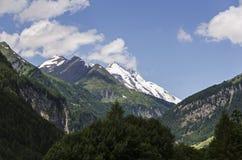 Pico de montaña en Grossglockner Austria Fotos de archivo libres de regalías