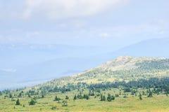 Pico de montaña hermoso Fotografía de archivo libre de regalías