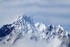 Pico de montaña Nevado Fotografía de archivo libre de regalías