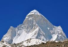 pico de montaña shivling Imagen de archivo libre de regalías