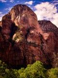 Pico de montaña, Zion Canyon, Utah Imágenes de archivo libres de regalías