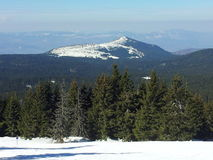 Pico de montaña en Kopaonik Fotos de archivo libres de regalías