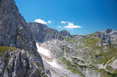 Pico de montanha Imagem de Stock Royalty Free