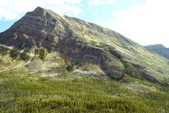 Pico de montanha Foto de Stock Royalty Free