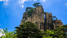 Pico de montanha Imagens de Stock