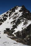 Pico de montanha de Remarkables Imagem de Stock Royalty Free