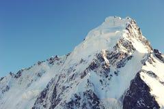 Pico de montanha em Nepal A montanha a mais alta no mundo naturalizado fotografia de stock