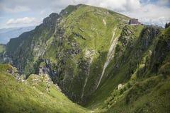 Pico de montanha, Monte Generoso imagem de stock royalty free