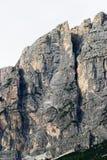 Pico de montanha rochosa Imagens de Stock Royalty Free