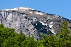 Pico de montanha Solunska Glava, Macedónia Fotos de Stock