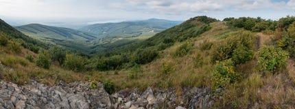 Pico de montanha de Vihorlat no leste de Eslováquia fotografia de stock royalty free