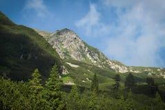 Pico de montanhas Fotografia de Stock