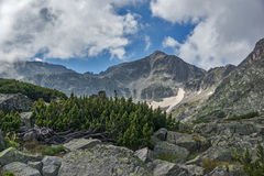 Pico de Musala, montaña de Rila Fotografía de archivo libre de regalías