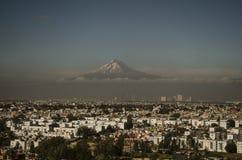 Pico de Orizaba, vulkaan, Mexico Royalty-vrije Stock Afbeelding