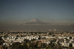 Pico de Orizaba, Vulkan, Mexiko Lizenzfreies Stockbild