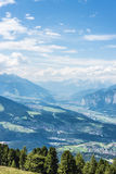 Pico de Patscherkofel perto de Innsbruck, Tirol, Áustria Imagem de Stock