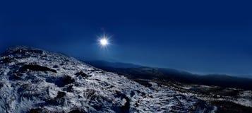 Pico de Petros Foto de Stock Royalty Free
