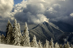 Pico de Pietrosul Bistritei Fotografia de Stock Royalty Free