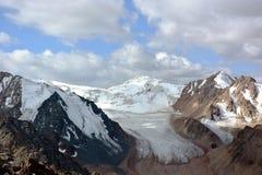 Pico de Pogrebetskiy Foto de Stock