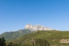 Pico de Puertolas en Huesca, España Imagen de archivo libre de regalías