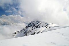 Pico de Rosa en Rosa Khutor (Krasnaya Polyana) Fotografía de archivo libre de regalías