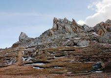 Pico de Shalbuzdag Imagem de Stock Royalty Free