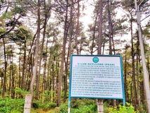 Pico de Shillong fotos de archivo libres de regalías