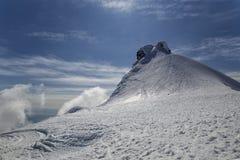 Pico de Snaefellsjokull Fotografía de archivo libre de regalías