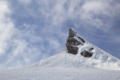 Pico de Snaefellsjokull Imágenes de archivo libres de regalías