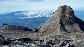 Pico de St John do Monte Kinabalu imagem de stock royalty free