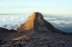 Pico de StJohn's do Monte Kinabalu Imagens de Stock