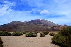 Pico de Teide Images stock