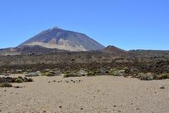 Pico de Teide (schlafender Vulkan), Teneriffa, Kanarische Inseln, Spanien, Europa Stockfotografie