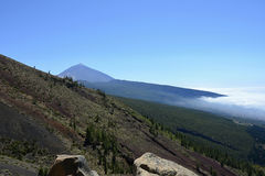 Pico de Teide (schlafender Vulkan), Teneriffa, Kanarische Inseln, Spanien, Europa Lizenzfreie Stockfotografie