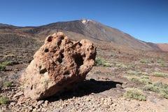 Pico DE Teide, Tenerife Stock Afbeeldingen