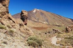 Pico de Teide, Tenerife Stockbild