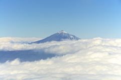 Pico de Teide on Tenerife Royalty Free Stock Image