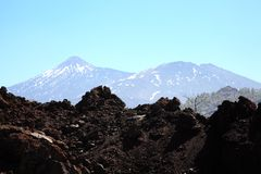 Pico de Teide, Tenerife Stock Photo