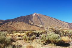 Pico de Teide, Tenerife Royalty Free Stock Photos