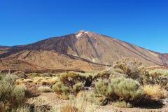 Pico de Teide, Tenerife. View of the volcano Pico de Teide, Tenerife Royalty Free Stock Photos