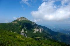 Pico de Toaca en Ceahlau Fotografía de archivo libre de regalías