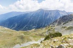 Pico de Todorka en la montaña de Pirin, Bulgaria Foto de archivo libre de regalías