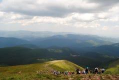 Pico de Ucrania Foto de archivo libre de regalías