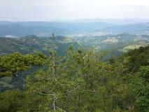 Pico de uma montanha Fotografia de Stock