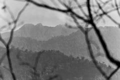 Pico de Uran Imagen de archivo libre de regalías