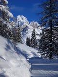 Pico de Valfredda Imagen de archivo libre de regalías