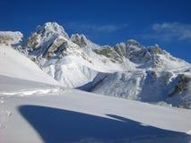 Pico de Valfredda Fotografía de archivo libre de regalías