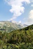 Pico de Vihren en la montaña de Pirin, Bulgaria Foto de archivo libre de regalías