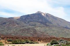 Pico del泰德峰武尔卡诺岛 免版税库存图片