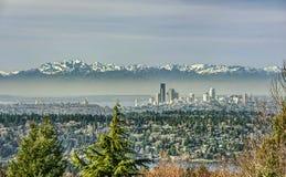 Pico del chivato de Seattle Imagen de archivo